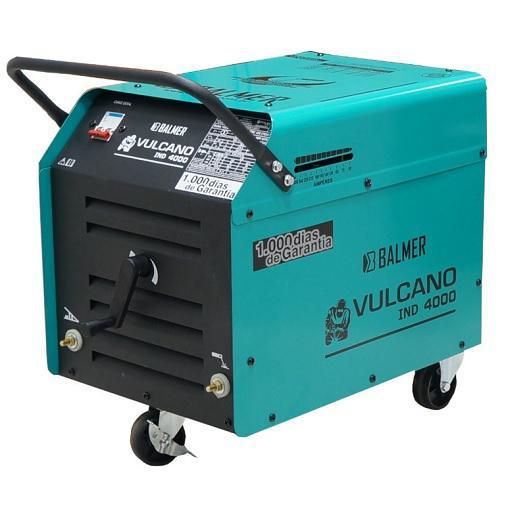 Solda Eletrodo Balmer 270 Amperes Vulcano IND 4000 Bifásica