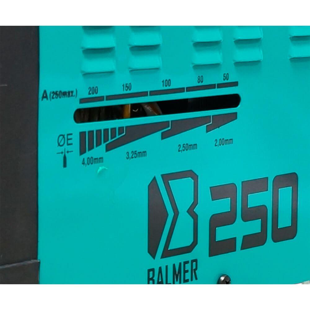 Solda Eletrodo Transformador 250 Amperes Balmer Bivolt