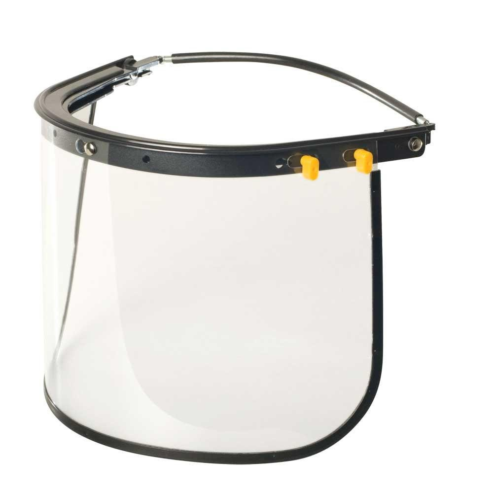 Suporte para Capacete Com Visor Incolor Borda Aluminio