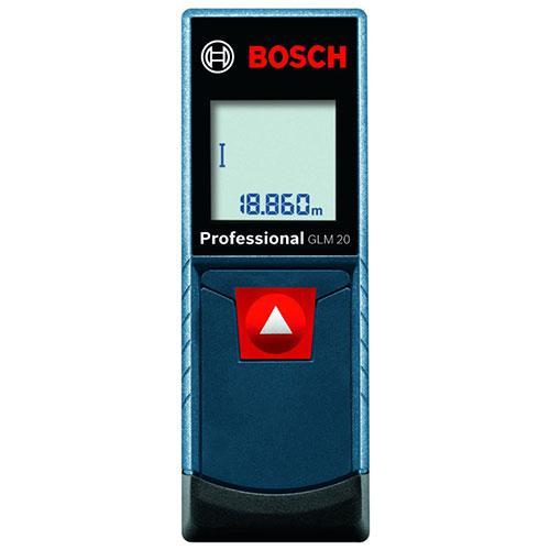 Trena a Laser de 20 Metros Bosch GLM 20