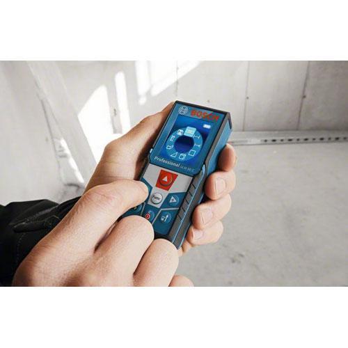 Trena a Laser de 50 Metros com Bluetooth Bosch GLM 50 C