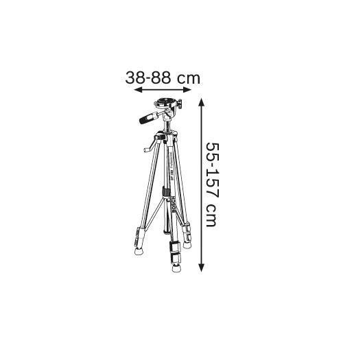 Tripé para Nível Bosch BT150 Professional