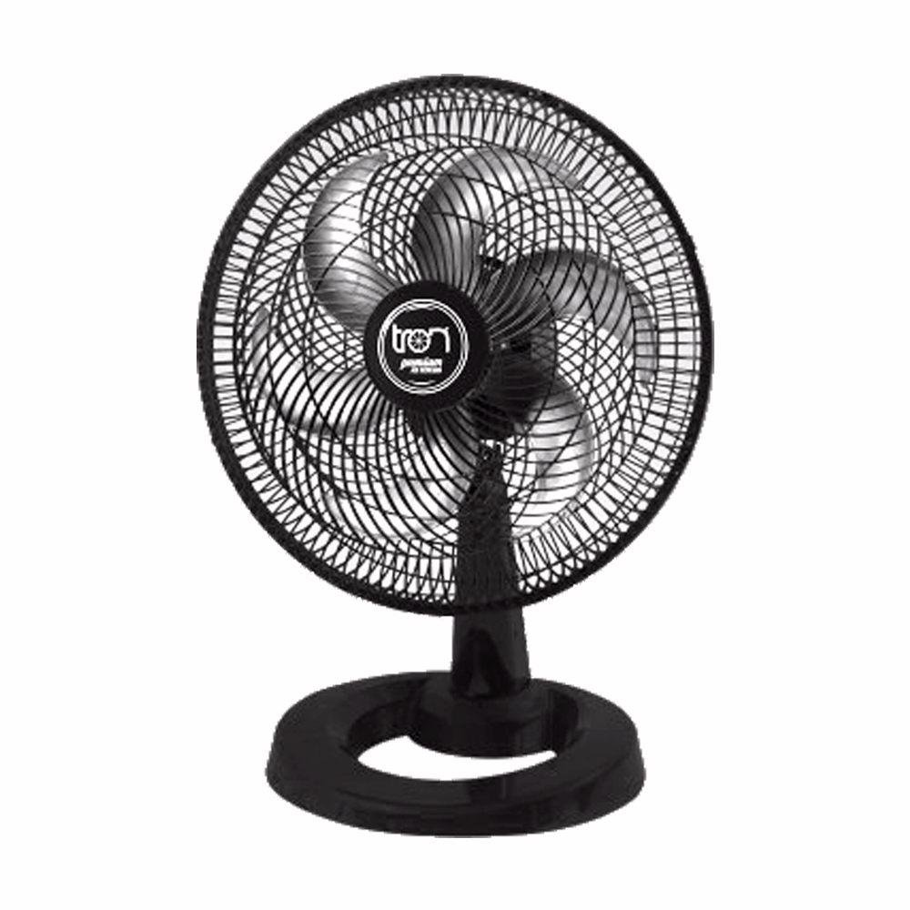 Ventilador Mesa Premium Preto 50cm Tron
