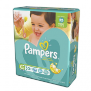 FRALDA PAMPERS TOTAL CONFORT MEGA XXG C/34