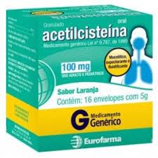 ACETILCISTEINA 100MG C/16SACHES EUROFARMA