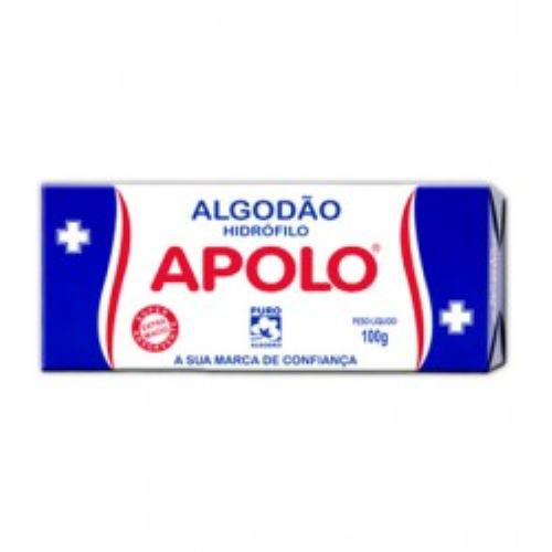 ALGODAO APOLO  C/10PACOTE C/100G