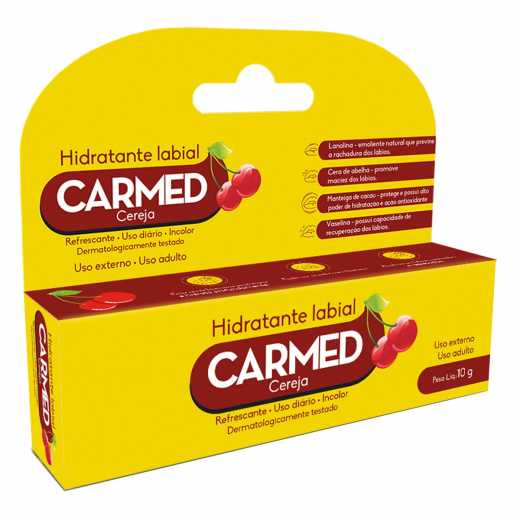 Carmed Labial Cereja 10G