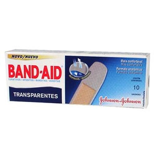 CURATIVO BAND-AID C/10UNID