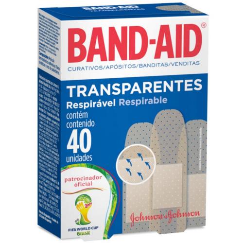 Curativo Band-Aid C/40Unid