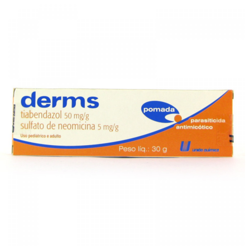 DERMS 50/5MG/G POMADA 30G