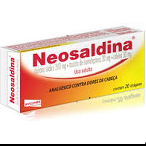 NEOSALDINA C/20DRAGEAS