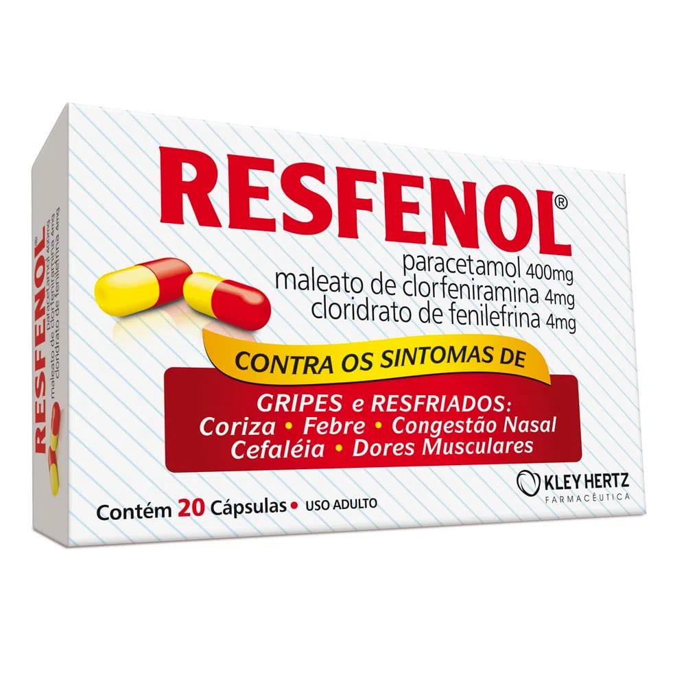 Resfenol C/20Capsulas