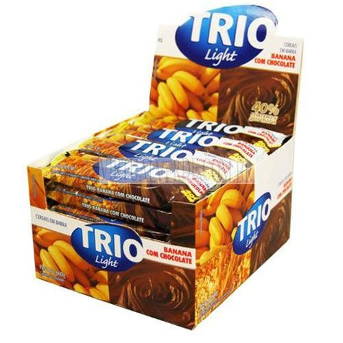 TRIO BANANA C/CHOCOLATE LIGHT DP C/24 GRAIN  (UNIC