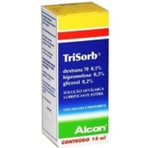 TRISORB SOL OFTALMICA 15ML