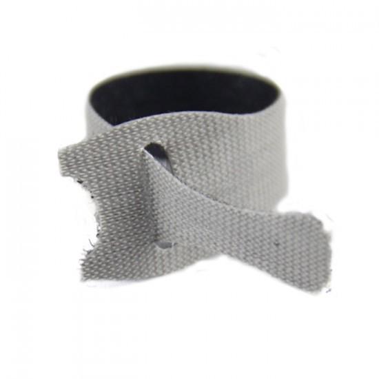 Abraçadeira para Cabos Velcro One-Wrap® 30cm Cinza - Kit com 75