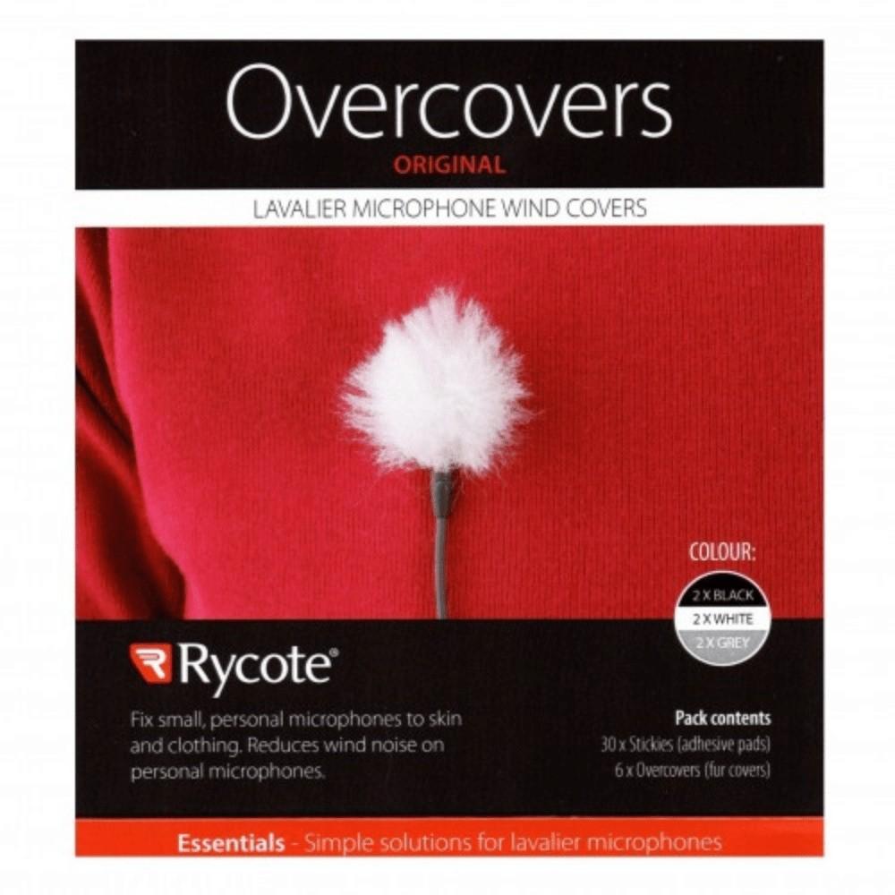 Adesivo para Lapela Overcover Rycote - 3 Cores