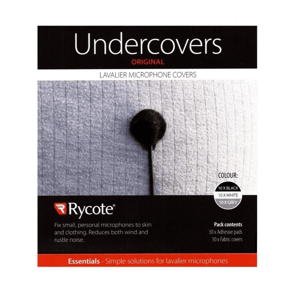 Adesivo para Lapela Undercover Rycote Preto  - Casa do Roadie