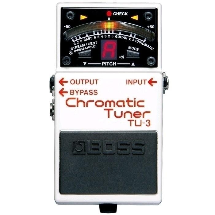Afinador Cromático Boss TU-3  - Casa do Roadie