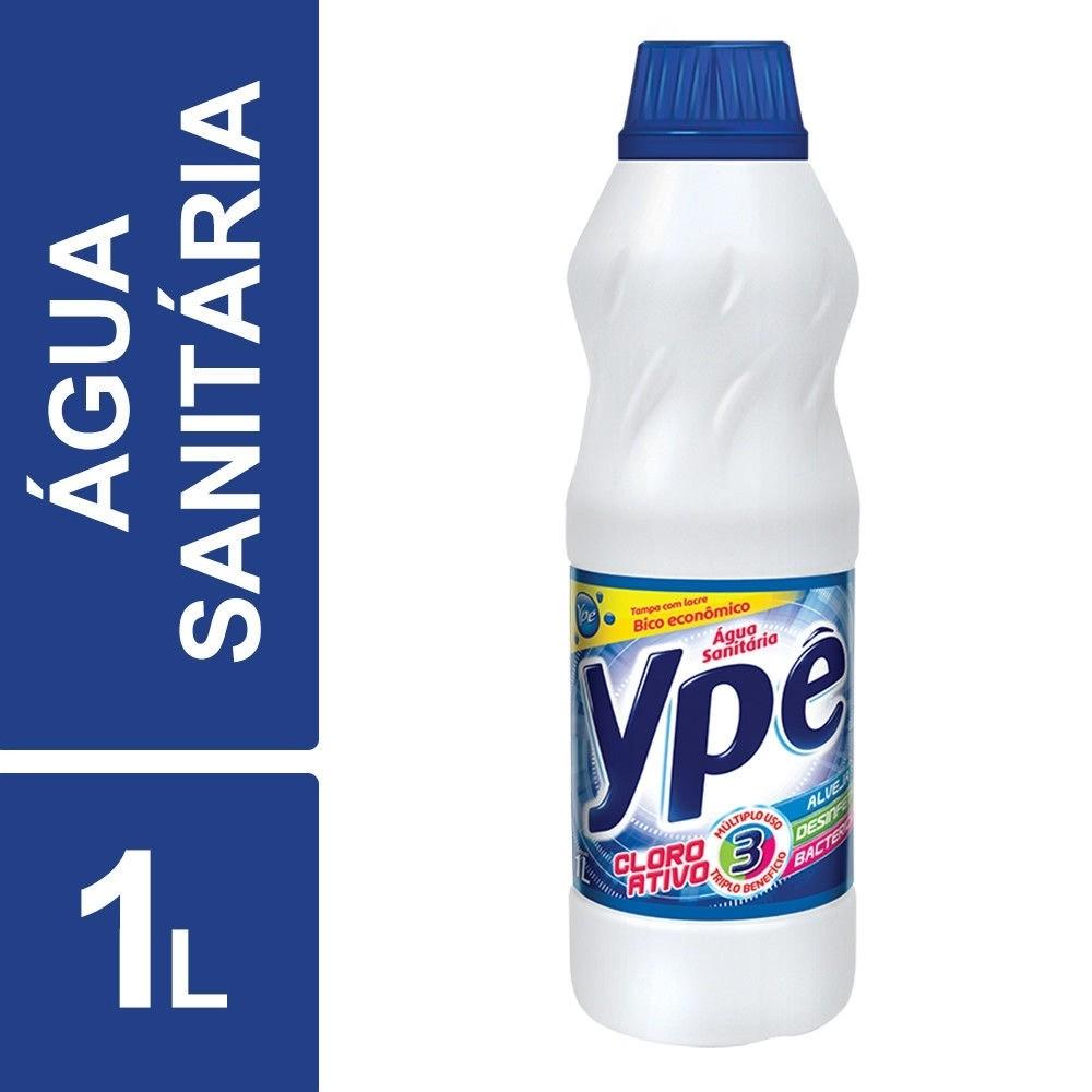 Água Sanitária 1 Litro Ypê