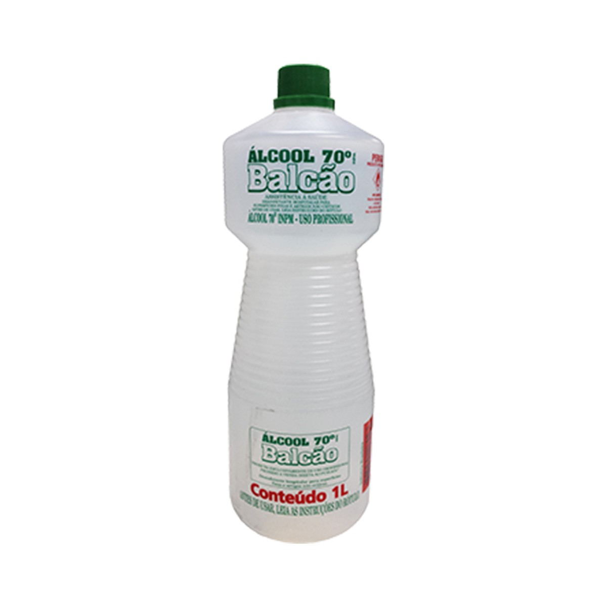 Álcool Balcão 70º 1 Litro