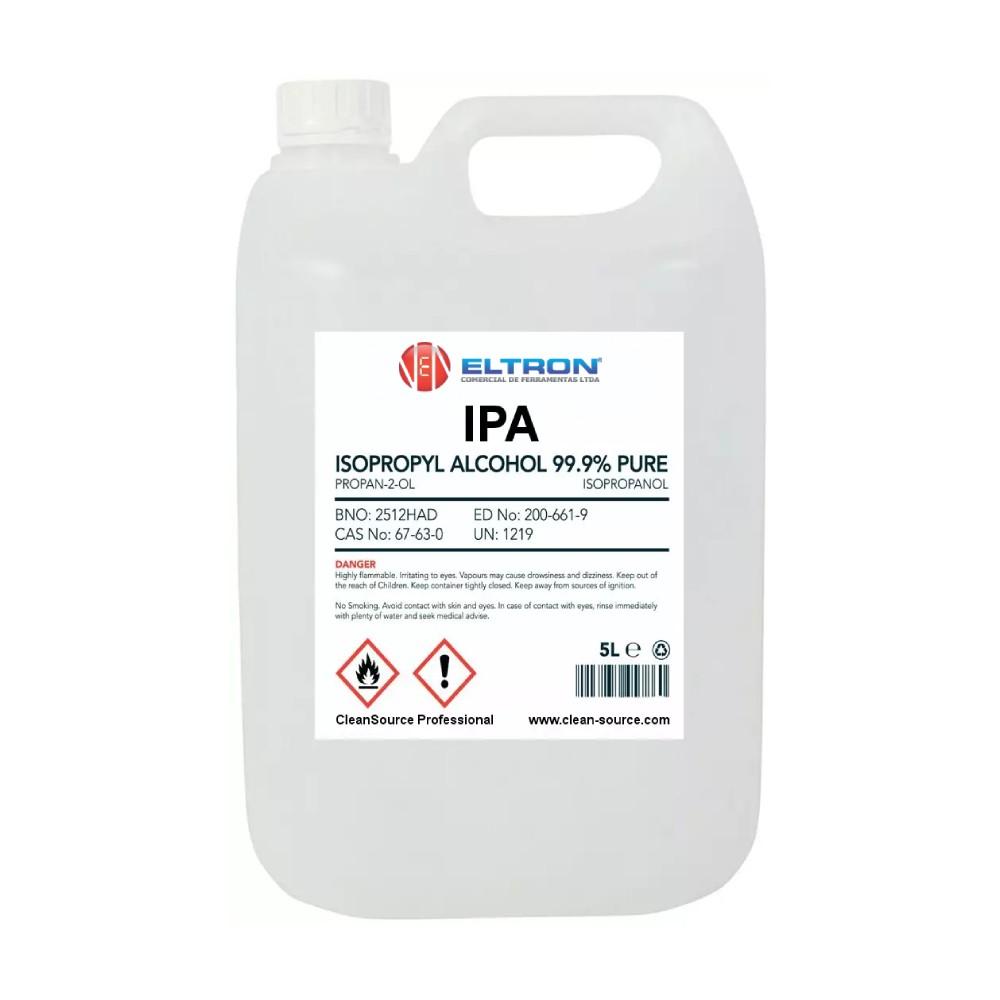 Álcool Isopropílico 99,96% Galão 5 Litros