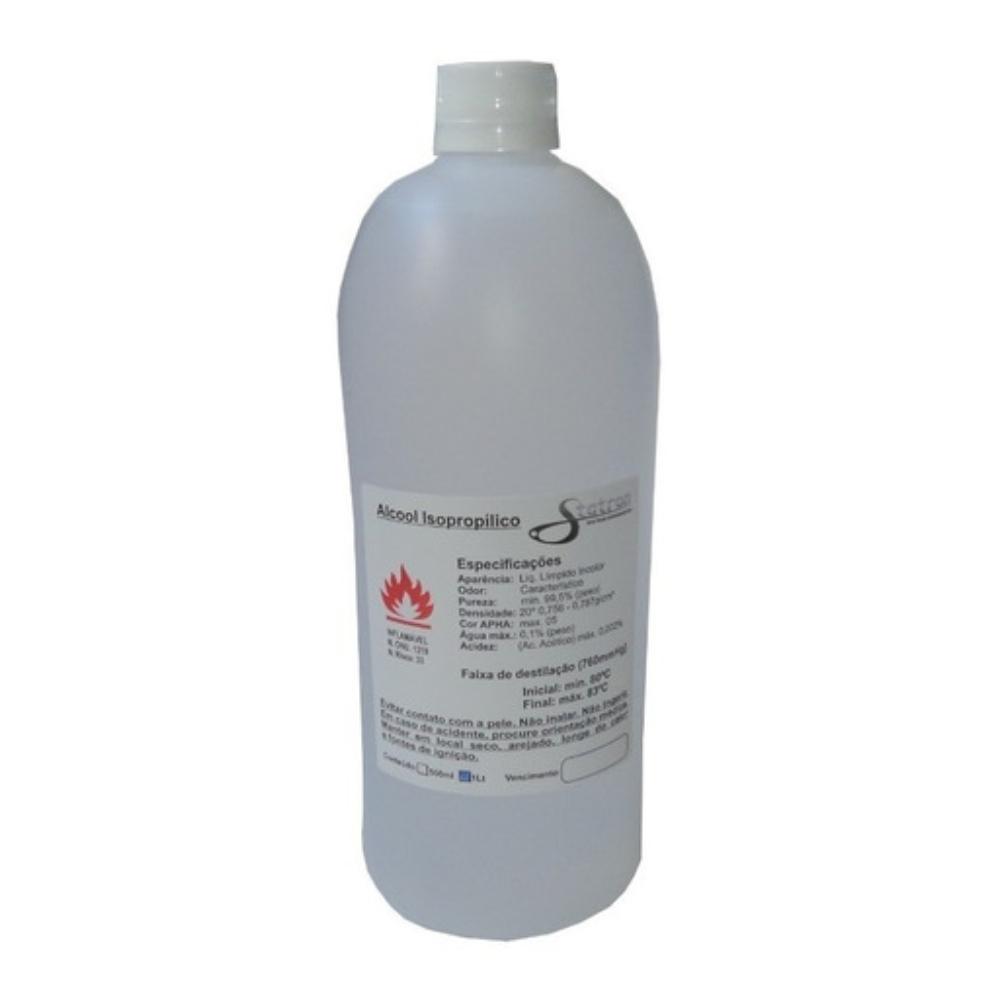 Álcool Isopropílico Limpador de Superfícies 99,8% Statron 1L
