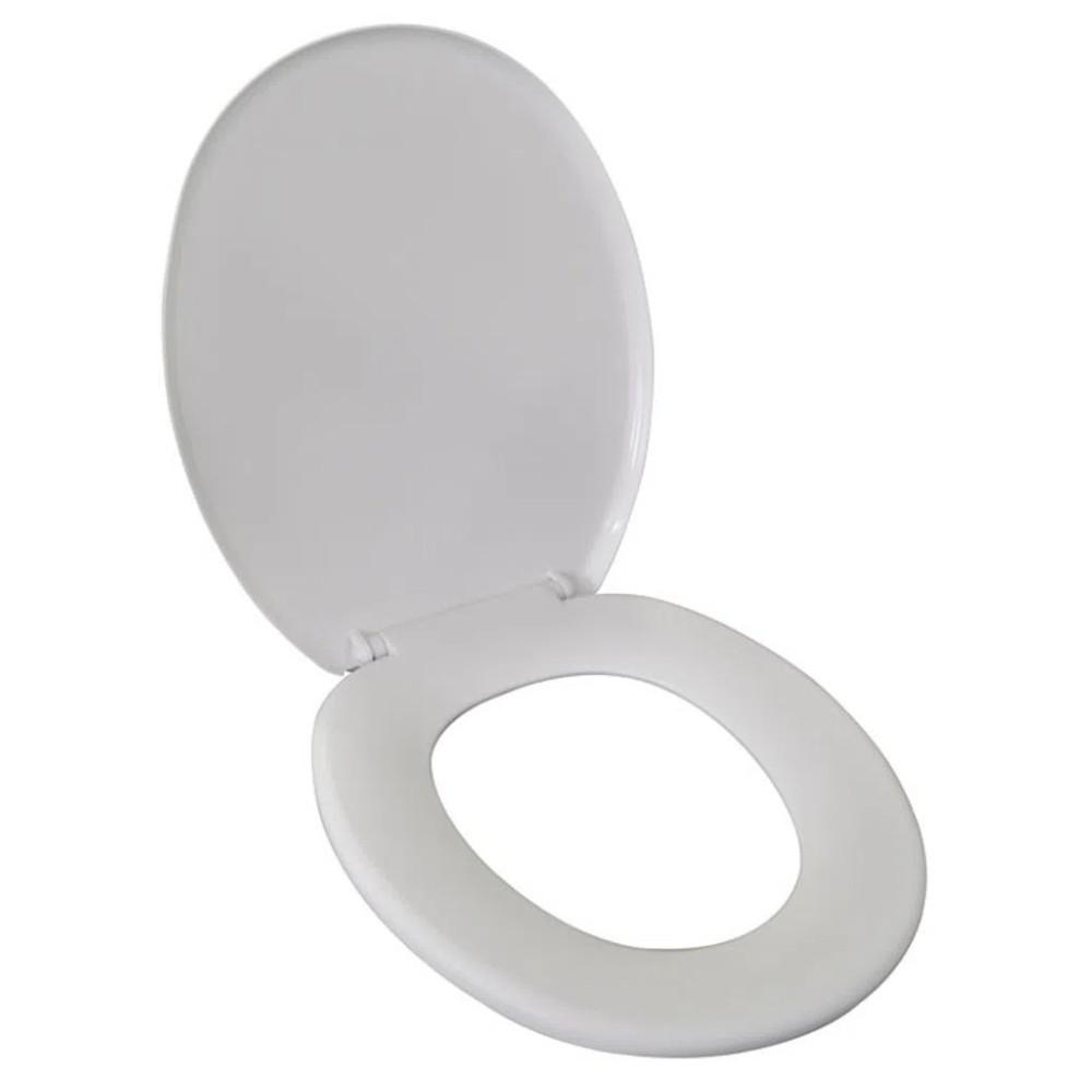 Assento Para Vaso Sanitário Branco  - Casa do Roadie