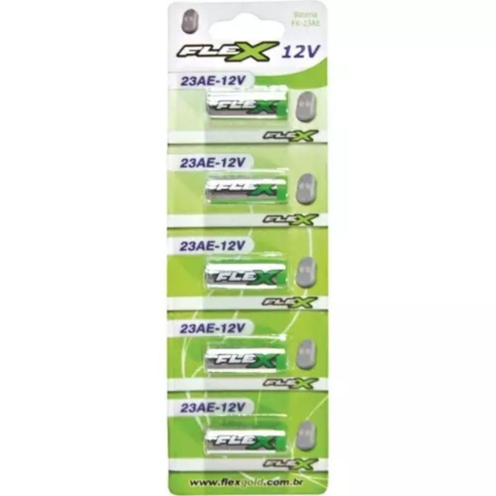 Bateria 23a 12v Flex - unidade  - Casa do Roadie