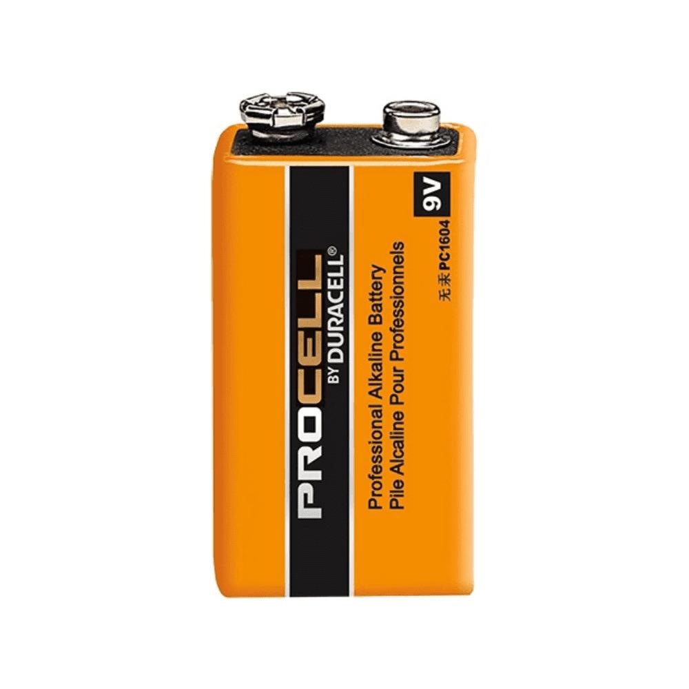 Bateria Alcalina 9V Duracell Procell - Kit com 24