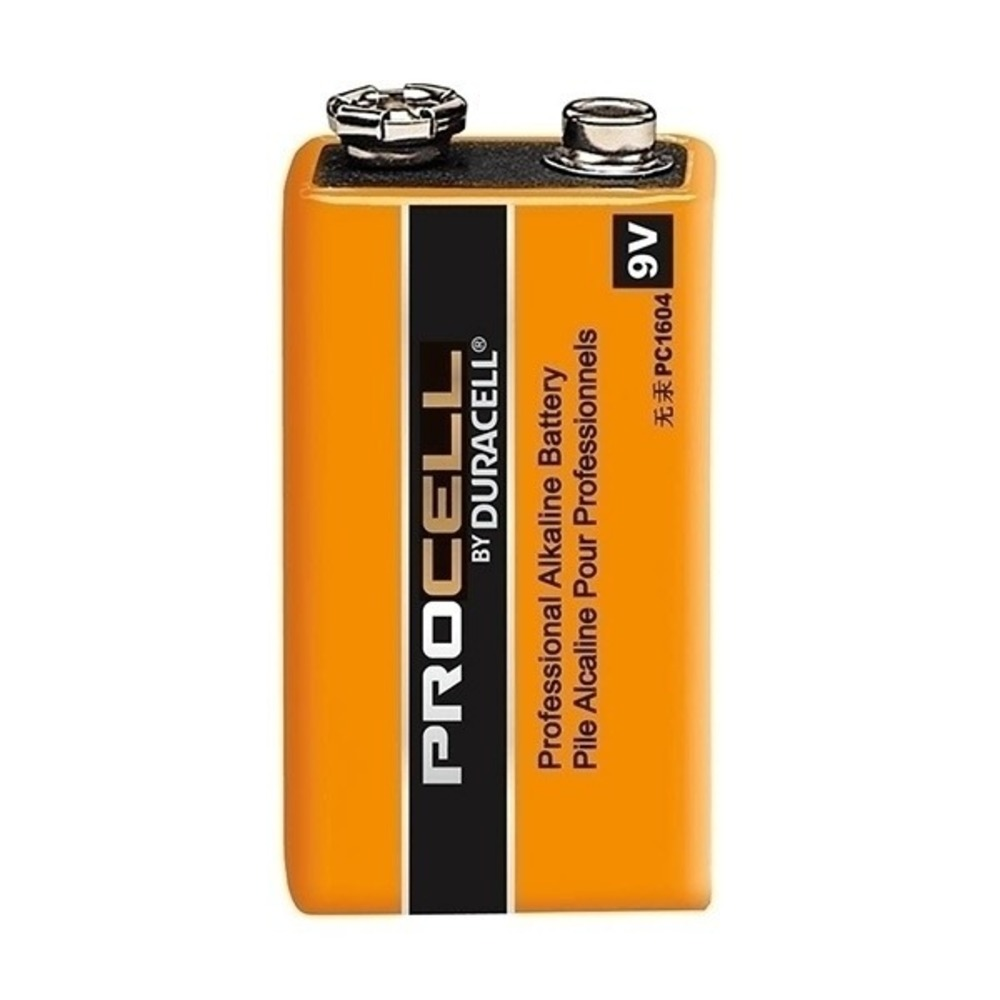 Bateria Alcalina 9V Duracell Procell - Kit com 72  - Casa do Roadie