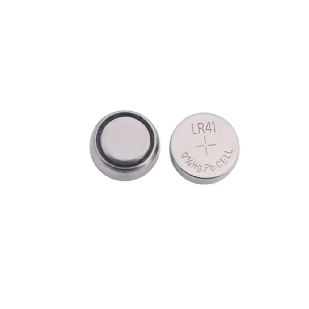 Bateria Alcalina LR41 Elgin - 10 Unidades