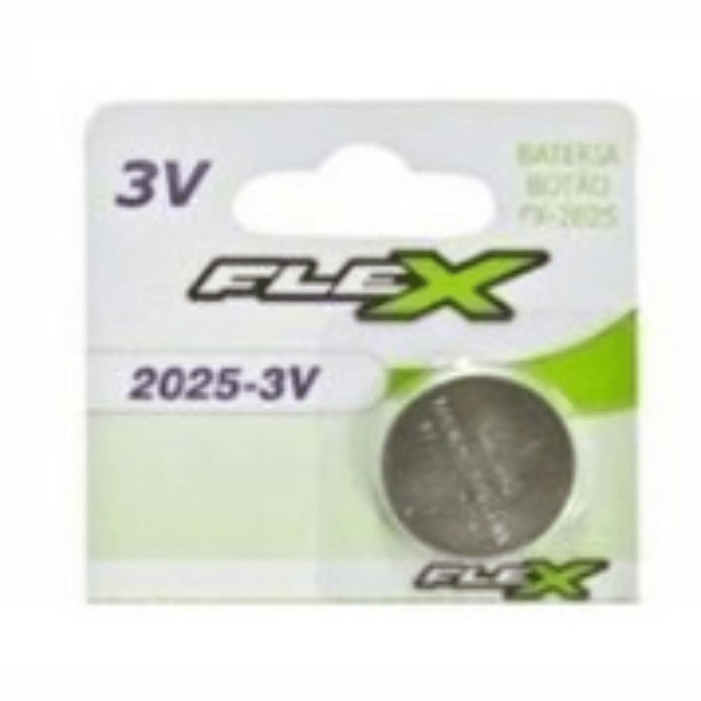 Bateria Botão CR2025 Flex  - Casa do Roadie