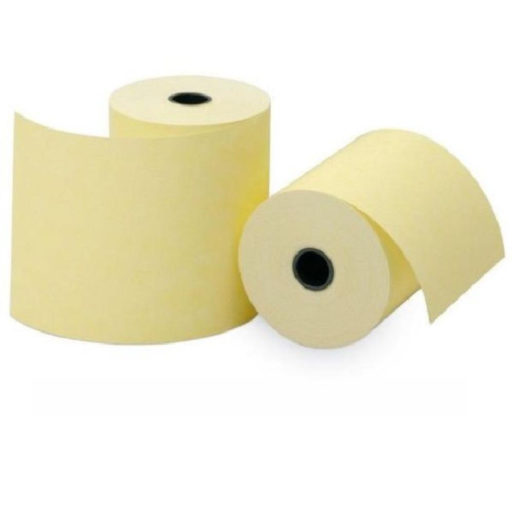 Bobina Térmica Amarela 57mm x 18m (p/ máquina de cartão)  - Casa do Roadie