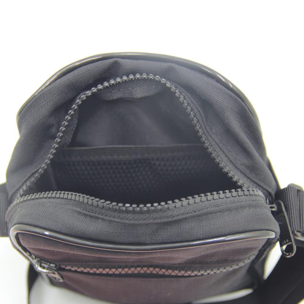 Bolsa Shoulder Bag CDR - Preto  - Casa do Roadie