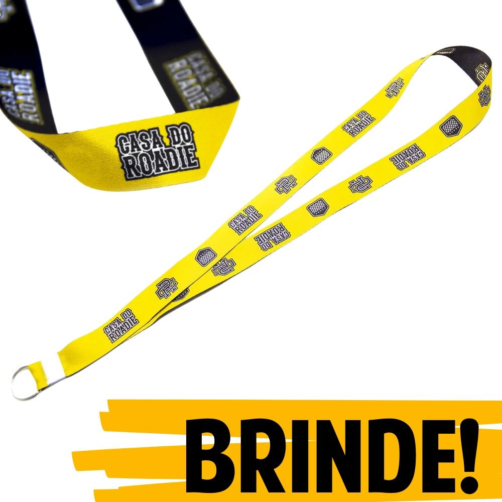 BRINDE | Cordão Casa do Roadie - Amarelo