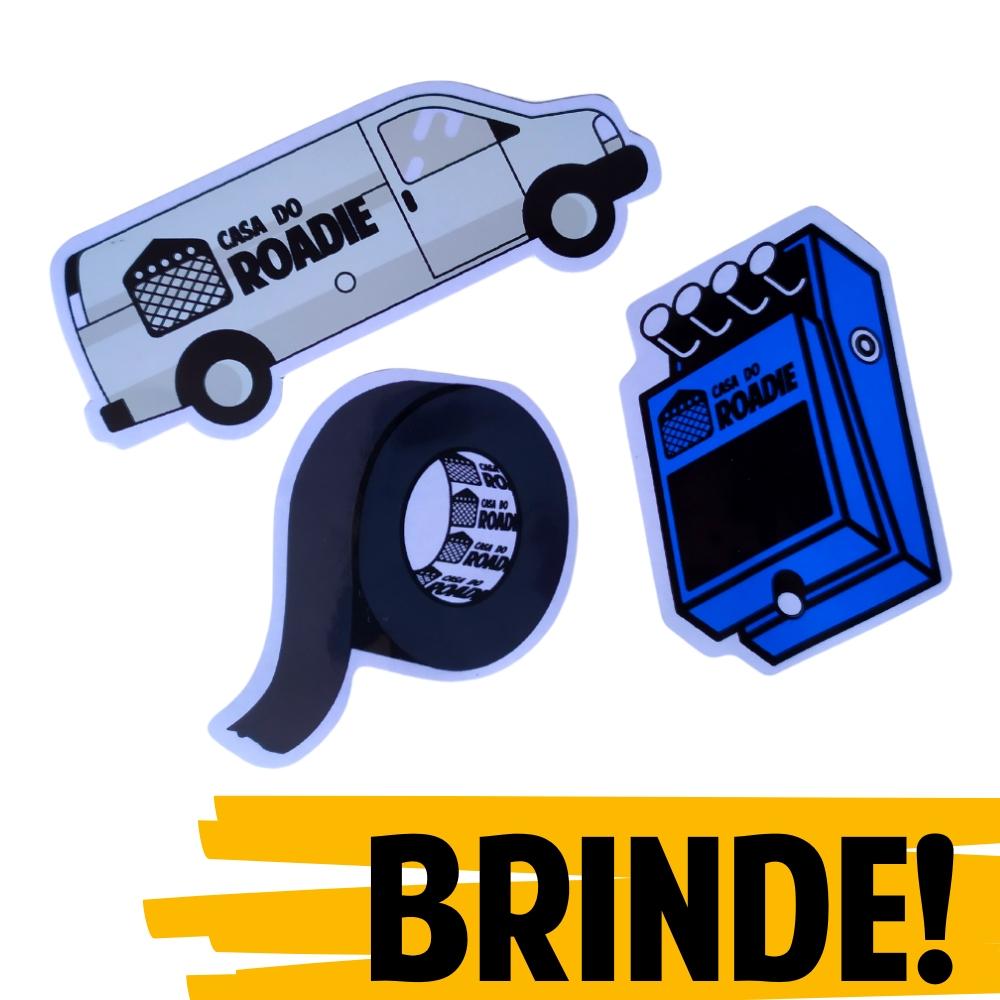 BRINDE | Pack de Adesivos Casa do Roadie