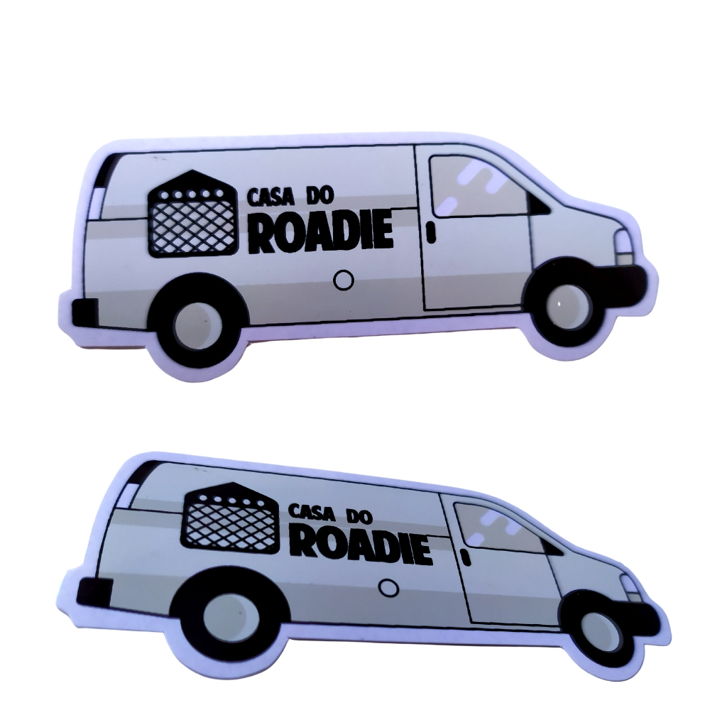 BRINDE | Pack de Adesivos Casa do Roadie  - Casa do Roadie
