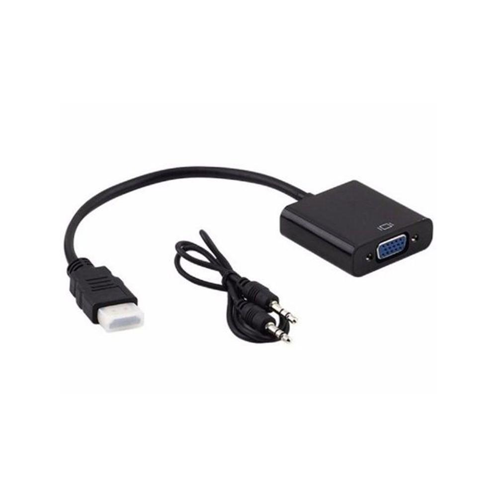 Cabo Adaptador Conversor HDMI para VGA  - Casa do Roadie