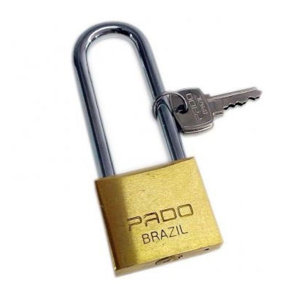 Cadeado de Latão LT-35mm 75mm Pado  - Casa do Roadie