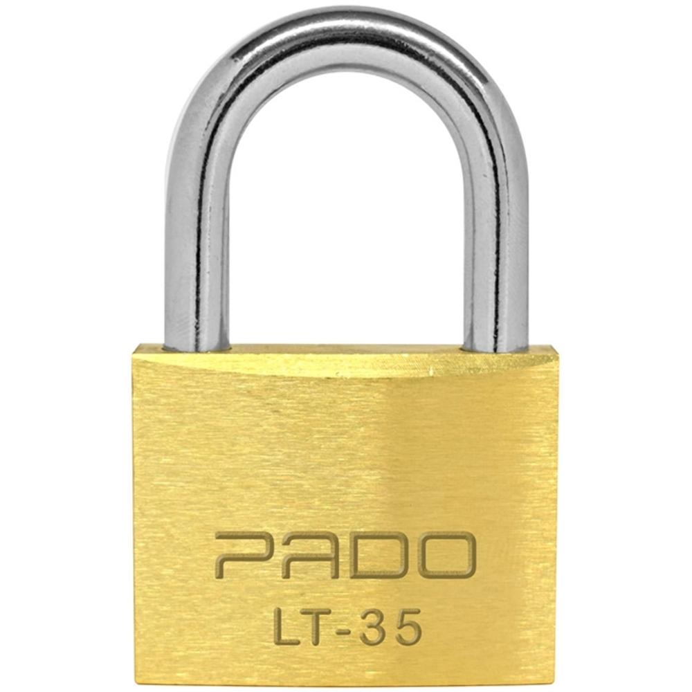 Cadeado de Latão LT-35mm Pado  - Casa do Roadie