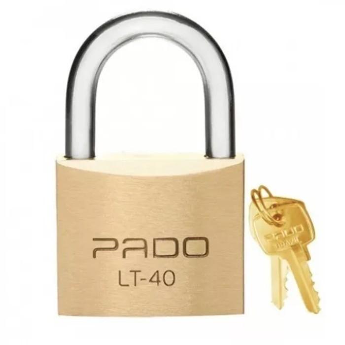 Cadeado de Latão LT-40mm Pado  - Casa do Roadie
