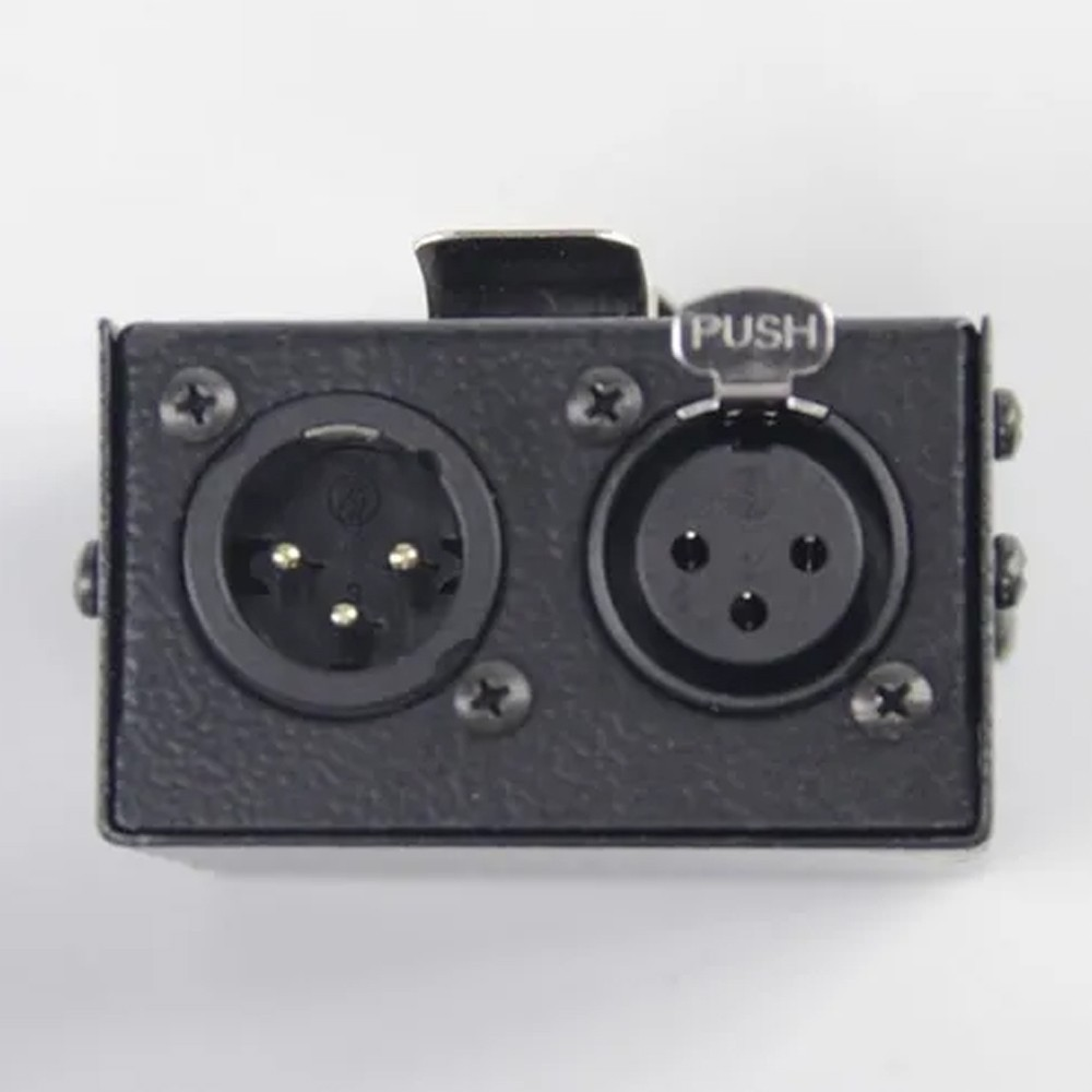 Caixa Adaptadora para Fones XLR para P2/P10