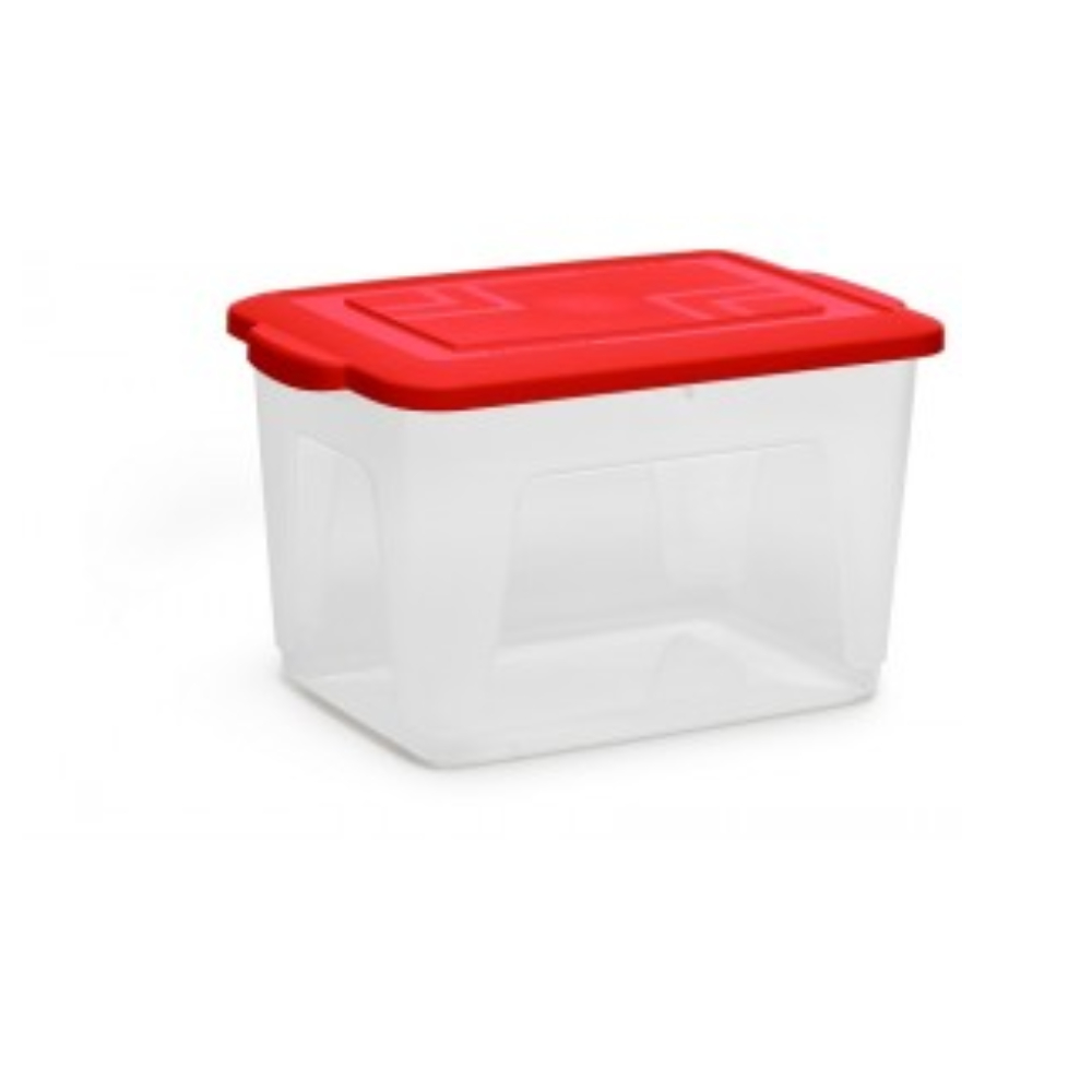 Caixa Organizadora Plástica 34L  - Casa do Roadie