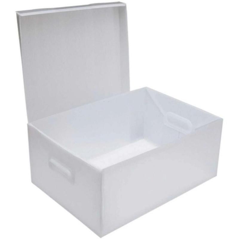 Caixa Organizadora Polionda 212cm X 280cm X 370cm Polibras   - Casa do Roadie