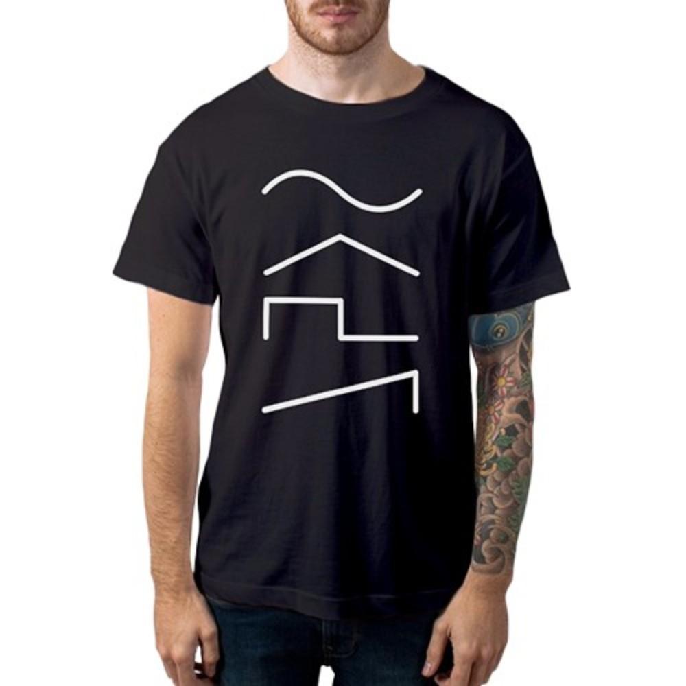 Camiseta Casual Audio Wave Casa do Roadie Preta G
