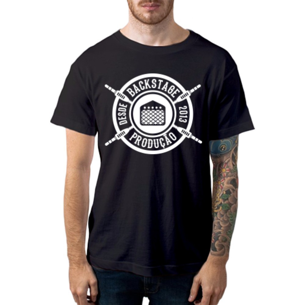 Camiseta Casual Since 2013 Casa do Roadie Preta P