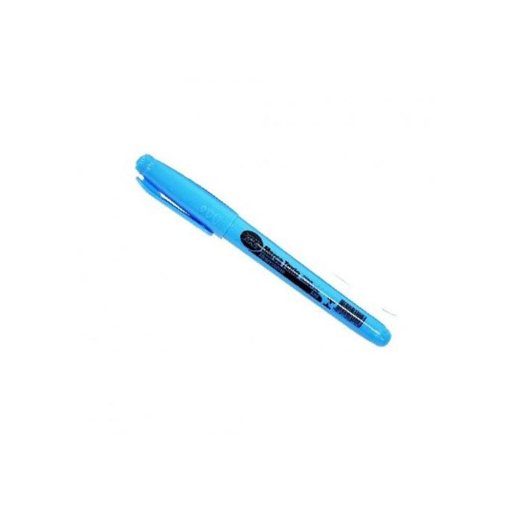 Caneta Marca Texto Kaz Azul