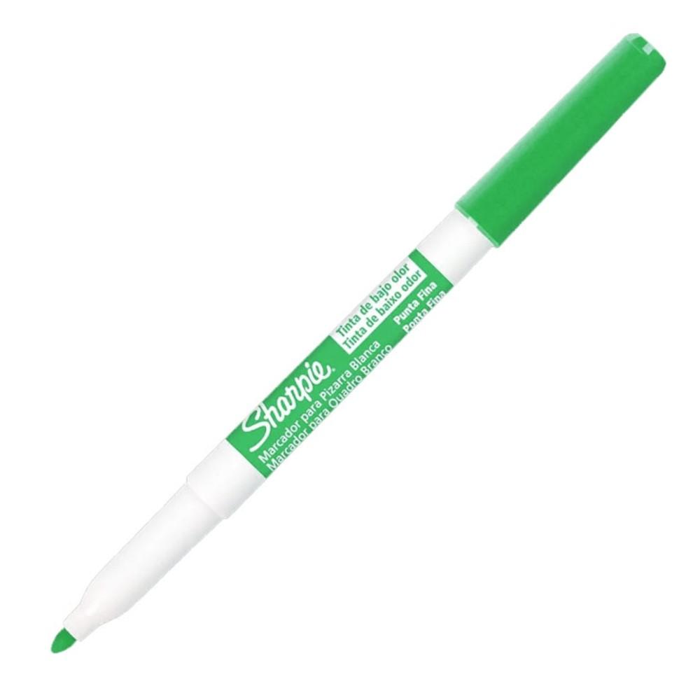 Caneta Marcadora de Quadro Branco Fino Sharpie Verde