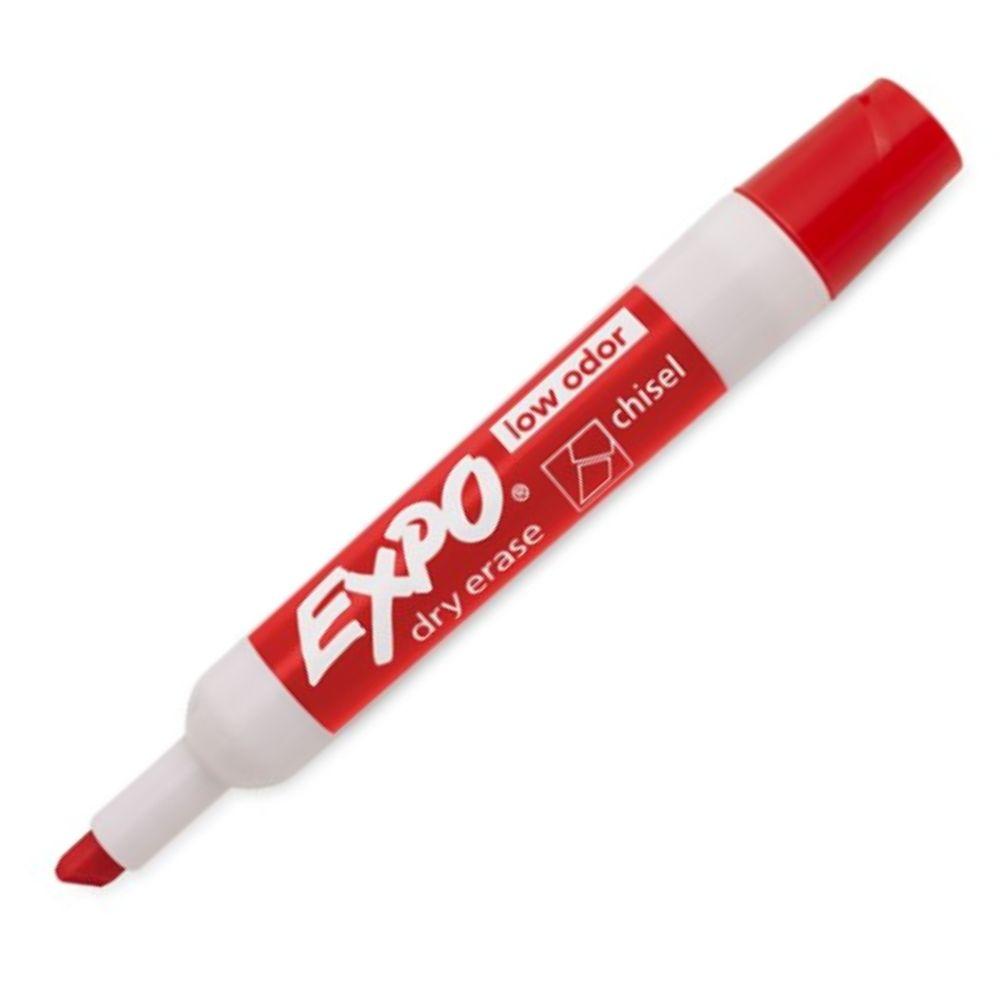 Caneta Marcadora de Quadro Branco Sharpie/Expo Vermelho