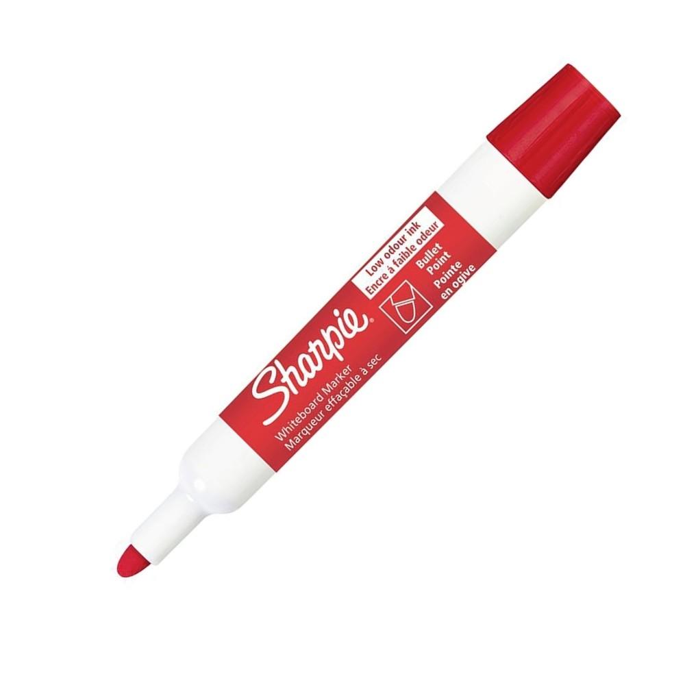 Caneta Marcadora de Quadro Branco Sharpie Vermelho